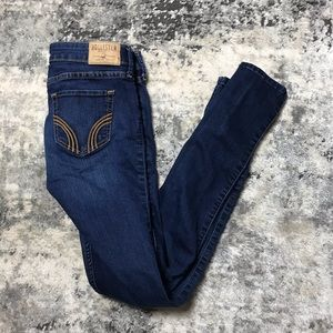0R - Women's HOLLISTER Super Skinny Dark